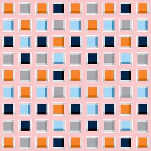 Checkered thread