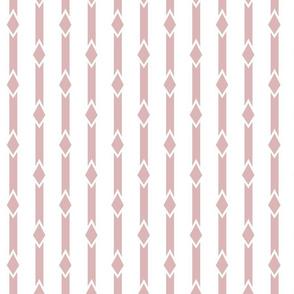 Diamond Stripe Pink