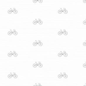 Bikes on White by Friztin