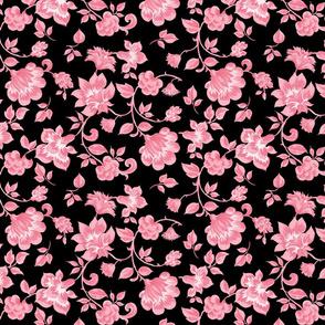 Fleurs de Provence ~ Dauphine on Black