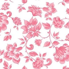 Fleurs de Provence ~ Dauphine on White