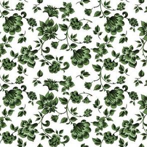 Fleurs de Provence ~ Tangling Green