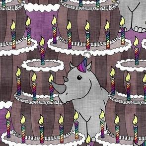 Rhino's 1st Birthday Party