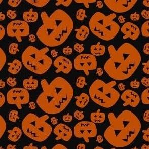 Jack O Lantern Halloween Fabric