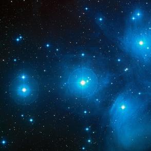 HD Pleiades Star Cluster