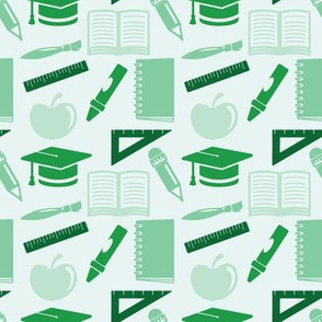 Back to School - 4in (green)