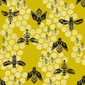 Honeycomb - Golden by Andrea Lauren