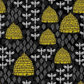 Honey Hives -  Black by Andrea Lauren
