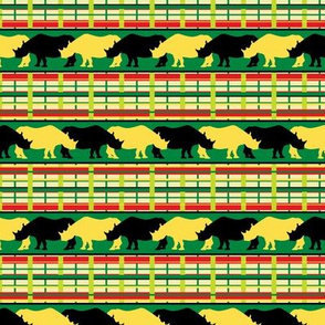 Rhinoceros Safari Weave