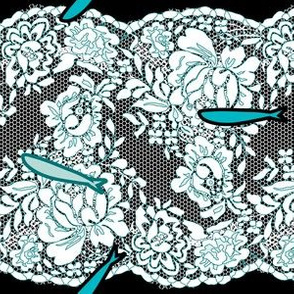 Fishes and Lace