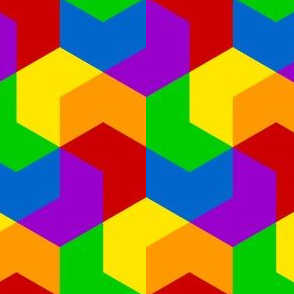 03286233 : chevron6 : rainbow