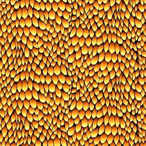 dragon - gold topaz