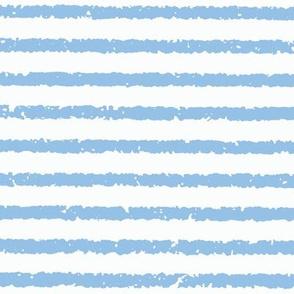 Lullaby Stripes(Blue/White)