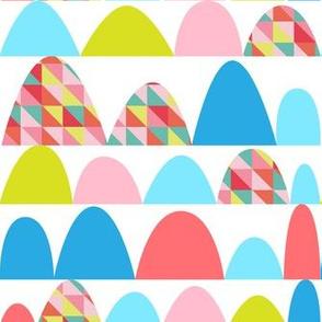 Bumps Geometric Bright