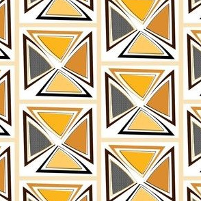 African Wax Print Wedges
