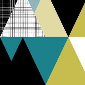 Triangles – large scale