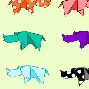 Rhino Origami