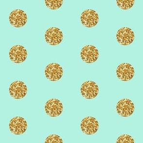 Glitter Dots Beaucoup! on Mint