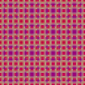 Mixed Berry Plaid   -Red, Purple, and Yellow