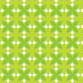 Green Diamond Flowers