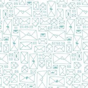 Envelopes - white