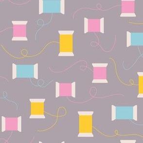 Sewing Threads (Grey)