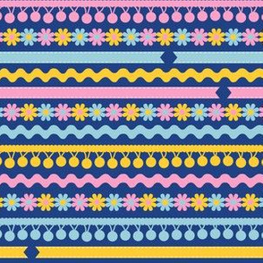 Ribbons and Trim (Blue)