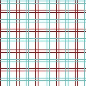 A Funky Rooster Kitchen - plaid2