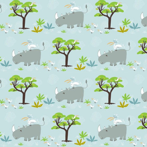 rhino + friends
