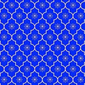 Moroccan flower purple