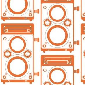 Orange Twin Lens Reflex