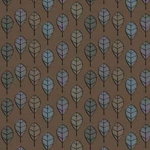 leaves metalworked