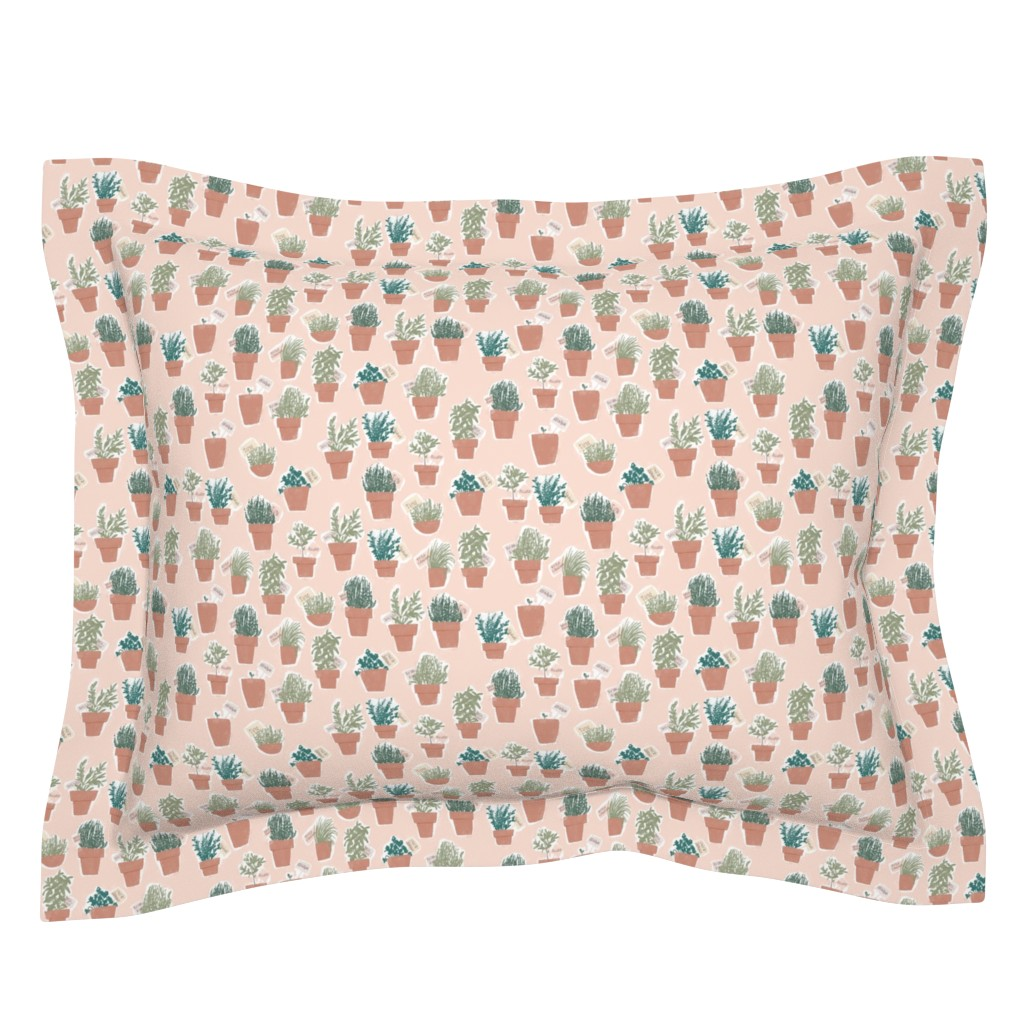 Sebright Pillow Sham featuring Odori - colorway 02 by aliceelettrica