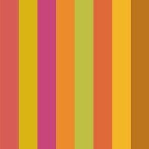 Broad Citrus Stripes