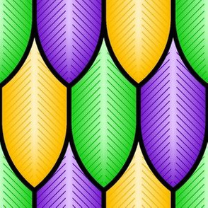 03317821 : feathers : mardi gras