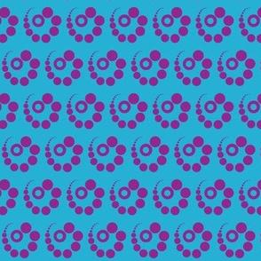 Dot Swirl Purple