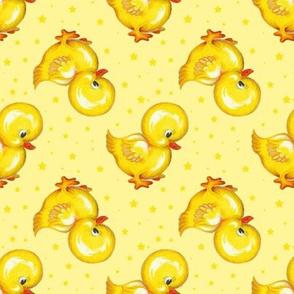 Rubber Duckie starry skies
