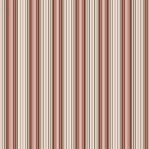 Vintage Shabby Rosé Stripe