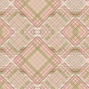 Vintage Shabby Rosé Diamond