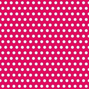 polka dot red