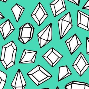 Crystals - White/Light Jade by Andrea Lauren