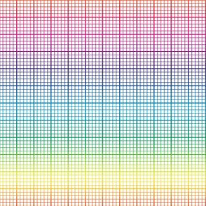 rainbow graph paper (small rainbow)