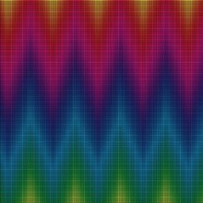 black rainbow graph