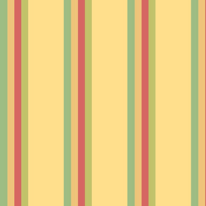 Vintage Ferris Wheel Stripes