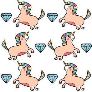 Unicorn & Diamond