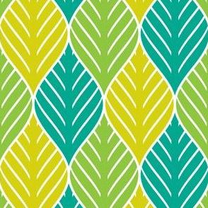 03324442 : jungle leaf 3 : botanical