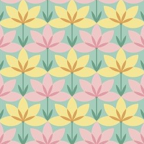 03324889 : circle8arc flower 1x : springcolors