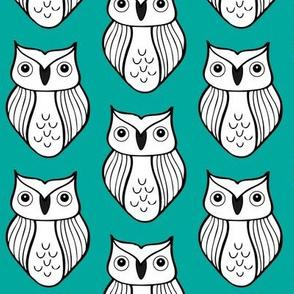 Owl BlueGreen