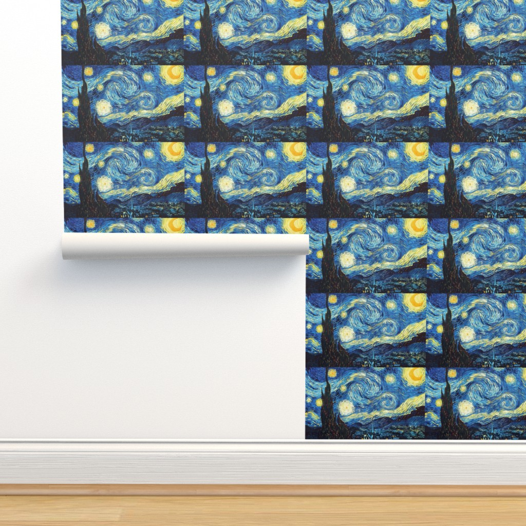 The Starry Night Vincent Van Gogh On Isobar By Fancy Pantsy