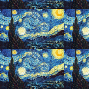 The Starry Night Vincent Van Gogh